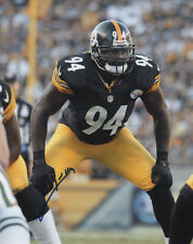 Lawrence Timmons Pittsburgh Steelers Football SIGNED 8x10 Photo COA!