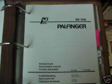 Palfinger BK 009 Demountable Console Parts List