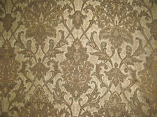 Upholstery/Drapery Chenille Damask Drapery Fabric Sarah 555 Desert By The Yard