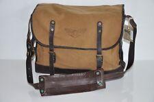 Ralph Lauren RRL VINTAGE Leather Canvas Messenger Bag