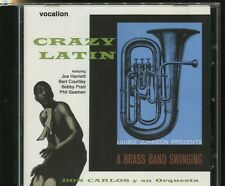 DON CARLOS - CRAZY LATIN - LAURIE JOHNSON ORCH - A BRASS BAND SWINGING - CD