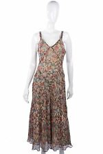 Calvin Klein silk summer dress size S