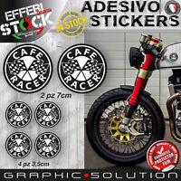 Adesivi Stickers Kit CAFE RACER ACE CAFE REUNION BOBBER GENTLEMANTS RIDER BMW