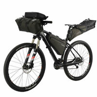 ROCKBROS Bike Cycling Waterproof Bicycle Handlebar Frame Saddle Bag US Stock