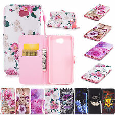 Wallet Style PU Leather Soft Phone Case Cover for Huawei Y6 II Compact Y5 2 II