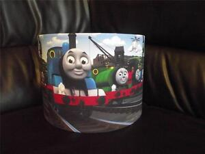 """THOMAS THE TANK ENGINE AND FRIENDS 10"""" DRUM CEILING LAMPSHADE LIGHTSHADE"""