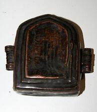 ANCIEN RELIQUAIRE PORTATIF METAL BOUDDHISME TIBETAIN NEPAL  XXéme