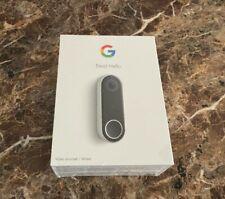 BRAND NEW Google Nest Hello Smart Wi-Fi Video Doorbell Wired (NC5100US)