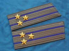 soviet russian KGB Shoulder boards Colonel epaulets officer ARMY USSR UNIFORM