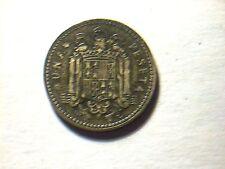 1 peseta Franco 1ere effigie 1947