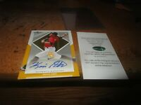 2016 Leaf Metal Perfect Game Kevin Abel Blank Back Yellow 1/1  Auto BA-139