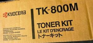GENUINE KYOCERA TK-800M TONER KIT FOR ECOSYS C8008N PRINTER 10K PAGES