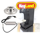 Cannular Pro Bench Top Aluminum Beer & Crowler Seamer w/ Power Supply! 11 - 32oz
