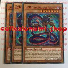 SET 3x COTD-IT017 D/D Tifone del Vizio - D/D Vice Typhon - COMUNE ITALIANO