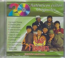 SEALED - Los Flamers CD 20 Autenticos Exitos Originales BRAND NEW