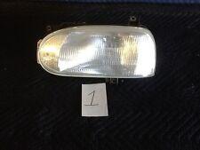 93 94 95 96 97 98 99 Volts Wagon Golf Left headlight 1