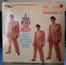 Rare EP UK - Elvis Presley – A Touch Of Gold Volume 3 - RCX 7204 - ( EX / NM )