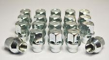 20 X M12 X 1.25 Tuercas de Rueda de Aleación, hexagonal 19mm con Mango 6mm (Zinc)
