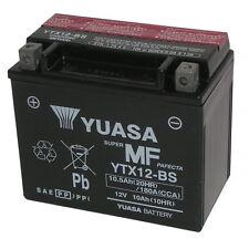 SUZUKI DL V Strom XT ABS 650 2015-2015 BATTERIA YTX12-BS 12V/10AH YUASA