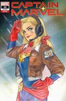 🔥 Captain Marvel #16 Exclusive Peach Momoko Trade Dress Variant Preorder!