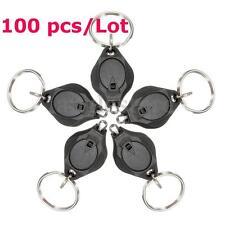 100x Bright Flashlight Keychain Mini LED Torch Keyring Hiking Camping Light Lamp