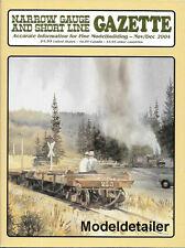 Narrow Gauge Gazette Nov.04 Bodie Railway Lumber Gilpin Sierra Tuolumne Shed