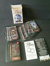 Lord of the Rings Tarot Deck LOTR Card Game 1996 Complete
