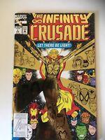 The Infinity Crusade #1, Her!! Marvel Comics, 1993 Foil cvr