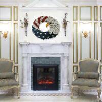 American Eagle Wreath - Patriotic Wreath for Front Door - Home Decor