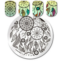BORN PRETTY Nail Art Stamp Image Plate Stencil Dream Catcher  BP-131
