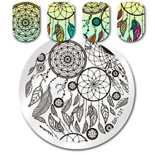 BORN PRETTY Nail Art Stamping Plate Dream Catcher Design Image Template BP-131