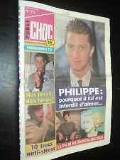 PUBLI CHOC 070 (10/2/93) SYLVESTER STALLONE MADONNA LE ROI PHILIPPE