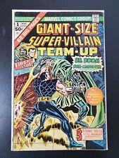 Giant Size Super Villain Team Up #1 (Marvel 1975) Dr.Doom & Namor