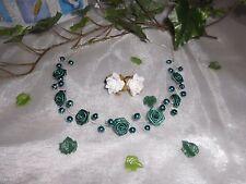 Kopfschmuck für Hochzeit/Kommunion grün