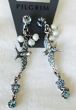 Pilgrim Jewelry Swarovski Crystal and Freshwater Pearl Earrings NWT $13.50