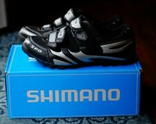 Shimano Mens Mountain Bike Cycling Shoes SH-M076 - Black - 8.9 EU 43