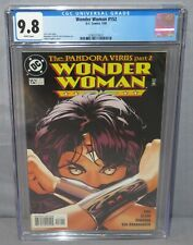 WONDER WOMAN #152 (Adam Hughes cover) CGC 9.8 NM/MT DC Comics 2000