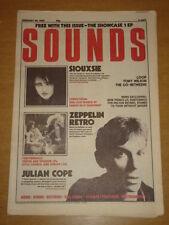 SOUNDS 1987 FEB 28 SIOUXSIE LED ZEPPELIN JULIAN COPE