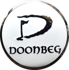 DOONBEG Logo FLAT Golf BALL MARKER