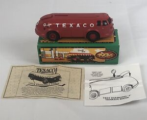 "1934 Diamond T Tanker ""Doodle Bug"" BANK W/KEY FROM TEXACO - 1994 -# 11-"