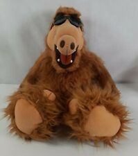 """Vintage ALF 18"""" Stuffed Plush Doll with Glasses P2"""