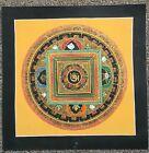 High Quality Buddha Mantra Mandala- painted by Lama