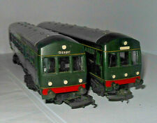 TRIANG R157/158 BR GREEN TWO CAR DMU GREAT RUNNER CLEAN