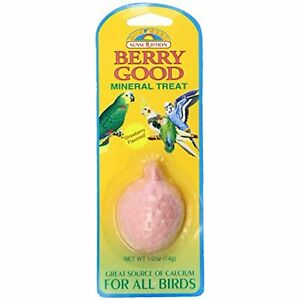 Sun Seed Company Bss22014 Small Birds Mineral Treat, 0.5-Ounce, Berry Good
