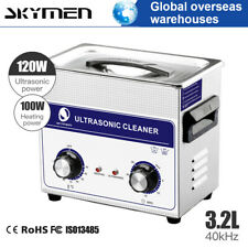 Stainless Steel 3L Liter Ultrasonic Parts Cleaner Heater Timer Ultra Sonic Bath