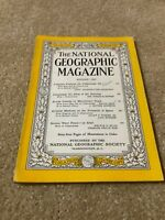 1955-08 AUGUST NATIONAL GEOGRAPHIC: COUSTEAU-MACKENZIE CAN-UNIVERSE ATLAS-SKUNK