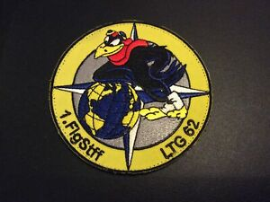 GERMAN AIR FORCE AIR TRANSPORT WING A400M EMBROIDERED BADGE / PATCH