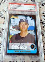 CHIEN MING WANG 2003 Bowman Rookie Card RC PSA 9 MINT Tainan Taiwan NY Yankees $