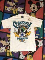 Dallas Cowboys 1993 Super Bowl Champs XXVII Marvin Martian Medium T-Shirt VTG