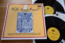Mozart Salzburger chiese musica Taborsky hinreiner 2lp Schwann AMS 706/707